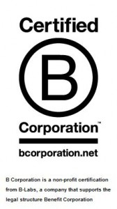 B Corporation Certification from B-Lab